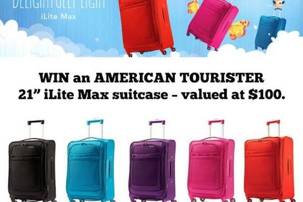 Travel Light With AMERICAN TOURISTER SUITCASE iLite Max #DelightfullyLight