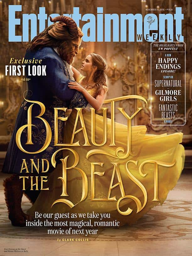 Beauty And The Beast, Emma Watson, Dan Stevens, Cover of Entertainment Weekly