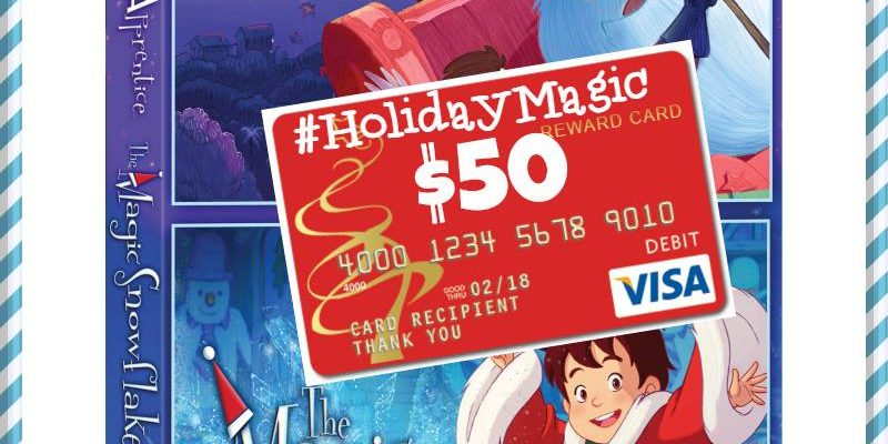Holiday Movies DVD And Visa Gift Card To Win #MyWOWgift