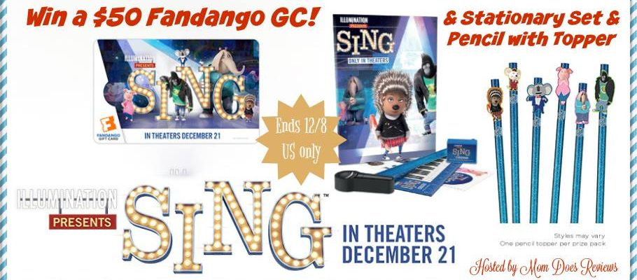 Be A Winner With A SING Movie & Fandango Giveaway #SingMovie