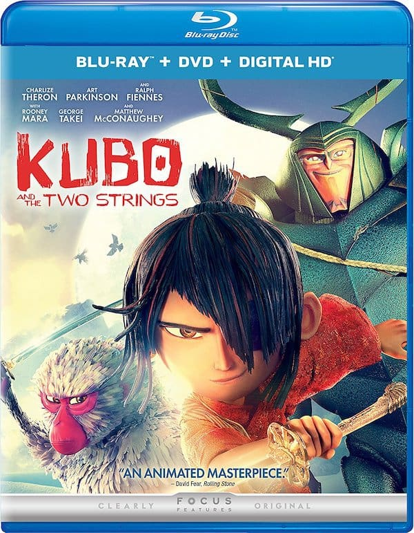 KUBO and the Two Strings blu ray DVD