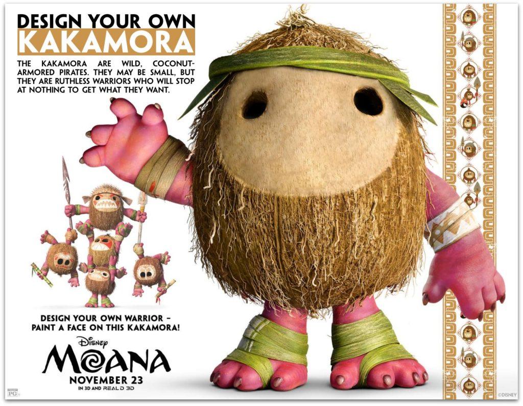 MOANA Crafts And Activity Sheets