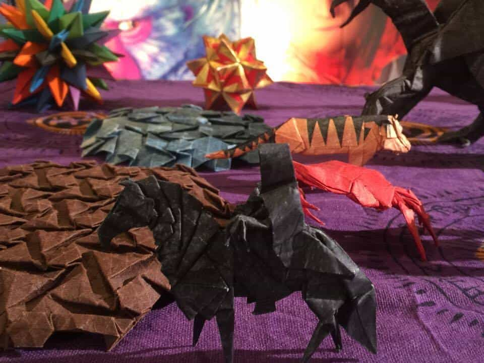 Origami KUBO and the Two Strings