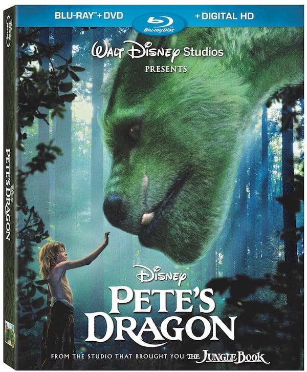 Pete's Dragon Blu Ray DVD