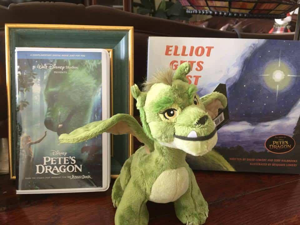 Pete's Dragon Disney's Lovable Elliot Plush