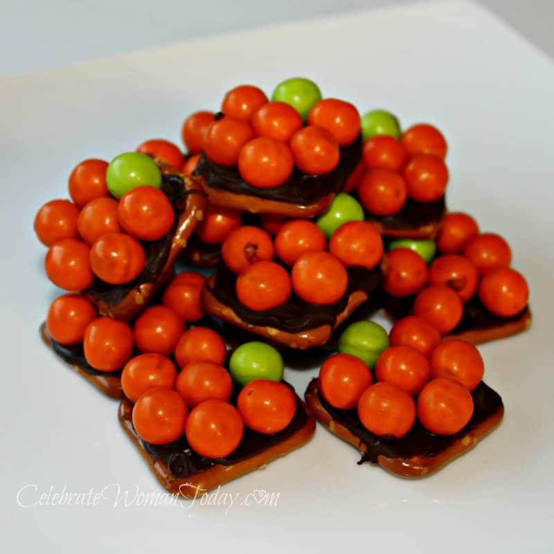 Pumpkin Pretzels Recipe Craft