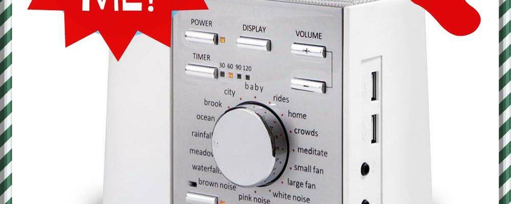 Sleep Better With Sound + Sleep Machine