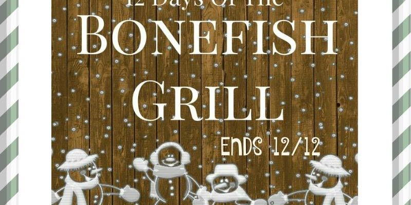 Bonefish Grill Gift Cards To Treat Entire Family To Good Food!