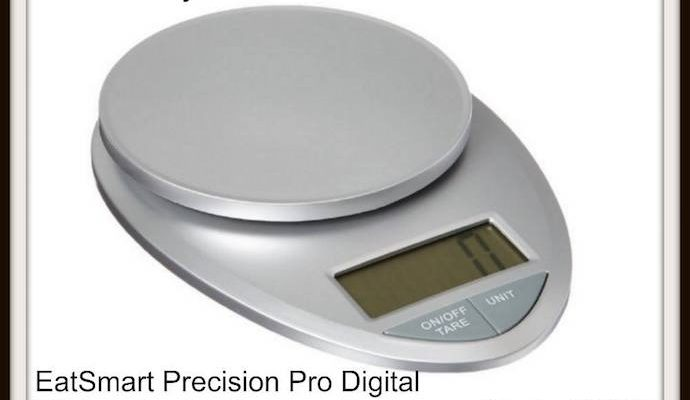 You And Your Kitchen Will Win With EatSmart Digital Food Scale