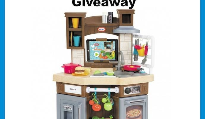 Win To Add Cook 'N Learn Little Tikes Smart Kitchen To Your Holiday Gifting