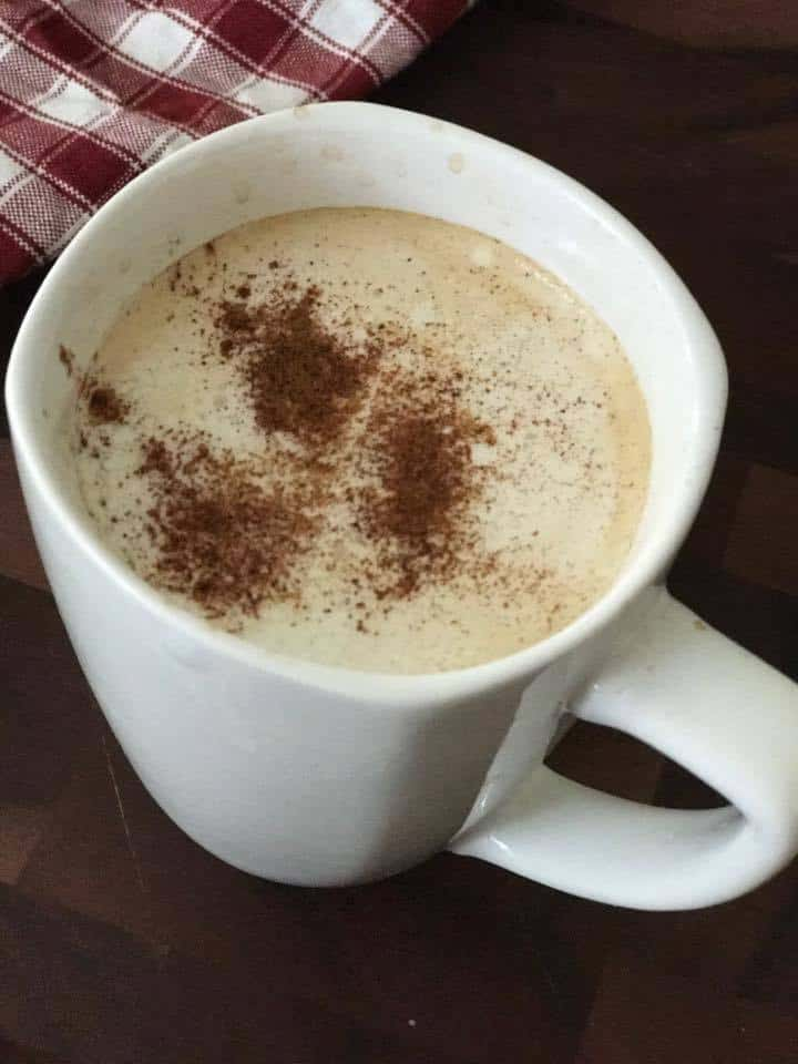 Coffee spiced with Chili pepper