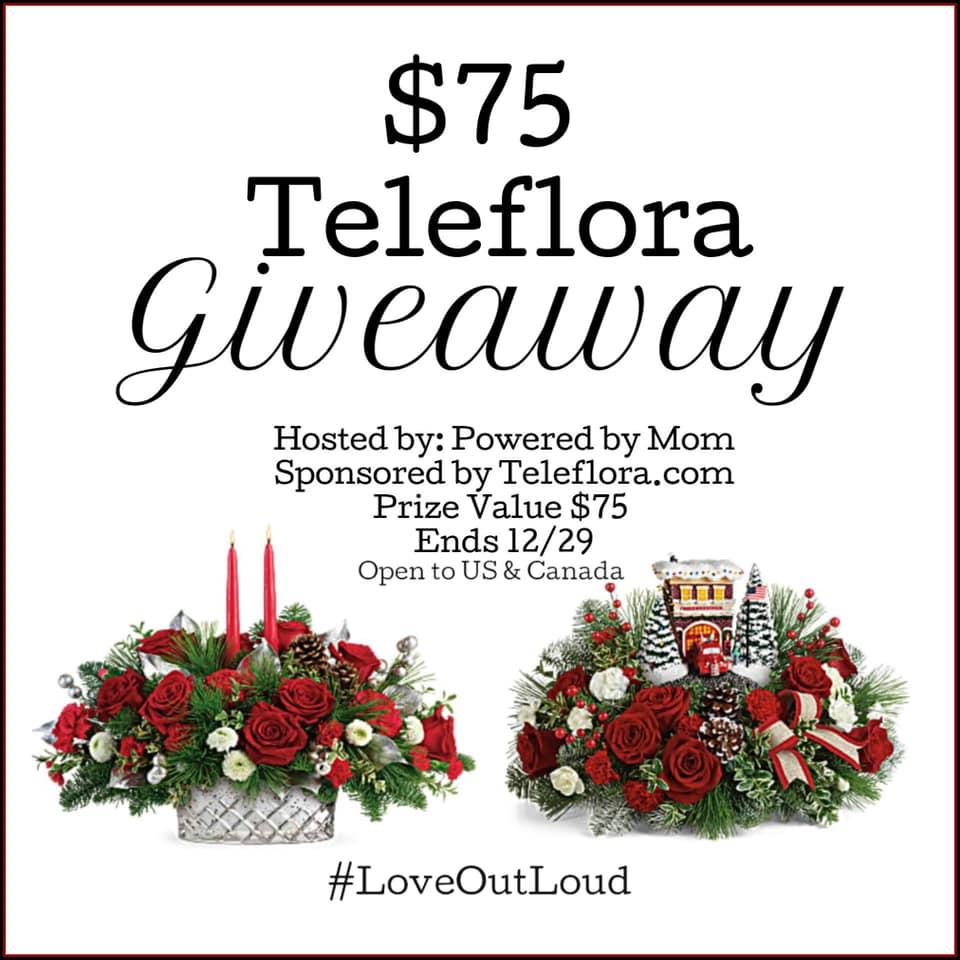 Teleflora flowers giveaway