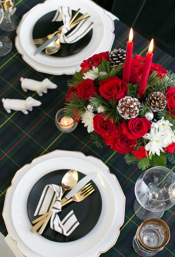 Teleflora holiday bouquet