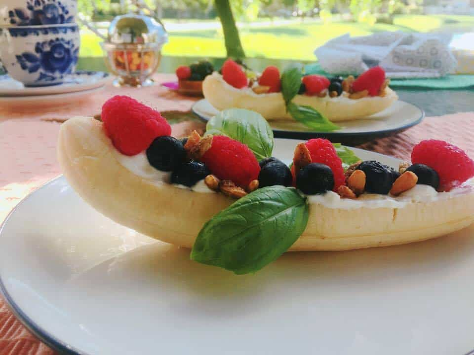 Greek Yogurt Banana Split