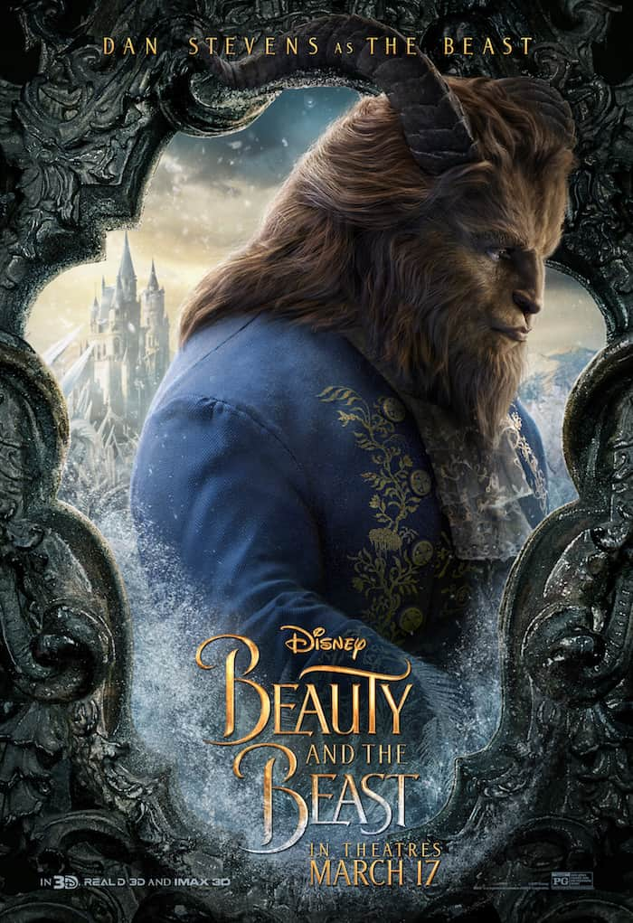 Beauty And The Beast, Disney Movie, Dan Stevens The Beast