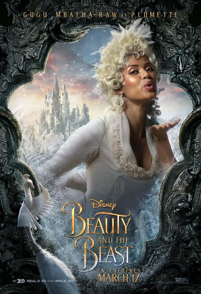 Beauty And The Beast, Disney Movie, Gugu Mbatha-Raw, Plumette