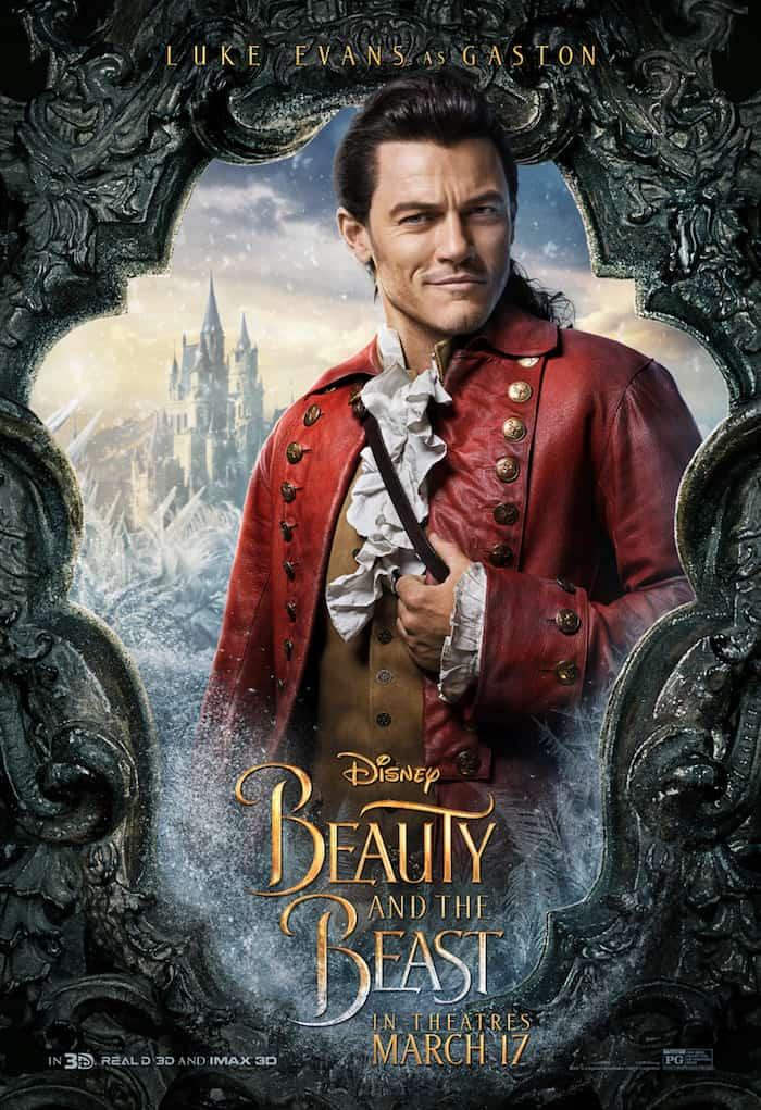 Beauty And The Beast, Disney Movie, Luke Evans, Gaston