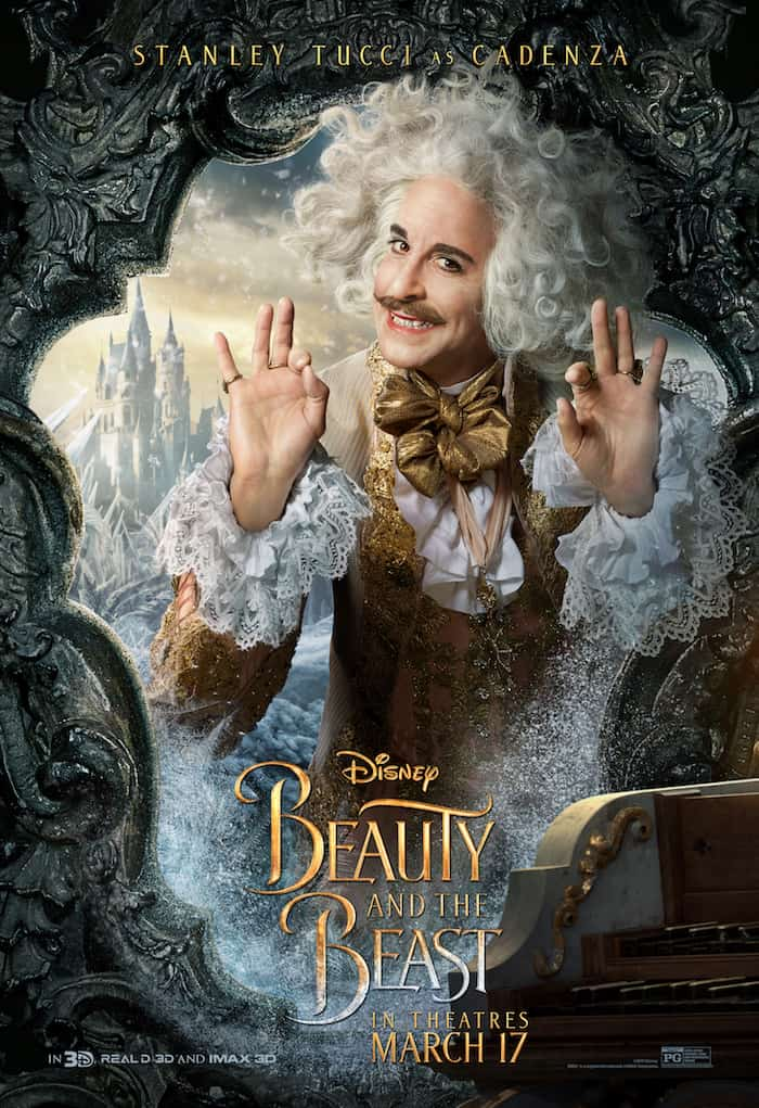 Beauty And The Beast, Disney Movie, Stanley Tucci, Cadenza