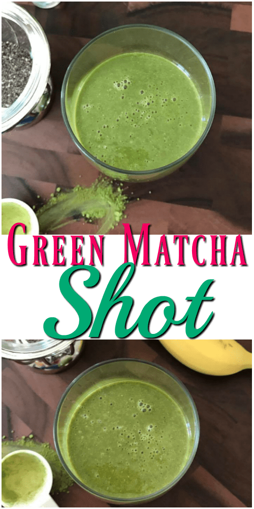 Green Matcha Shot Smoothie Nutri Ninja