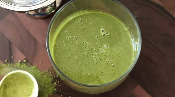Do You Believe In The Power of Breakfast? Green Matcha Shot Recipe