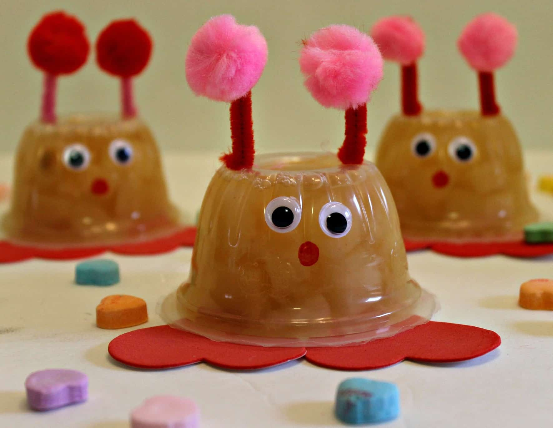 How To Make LOVE BUG Fruit Cups Craft Tutorial