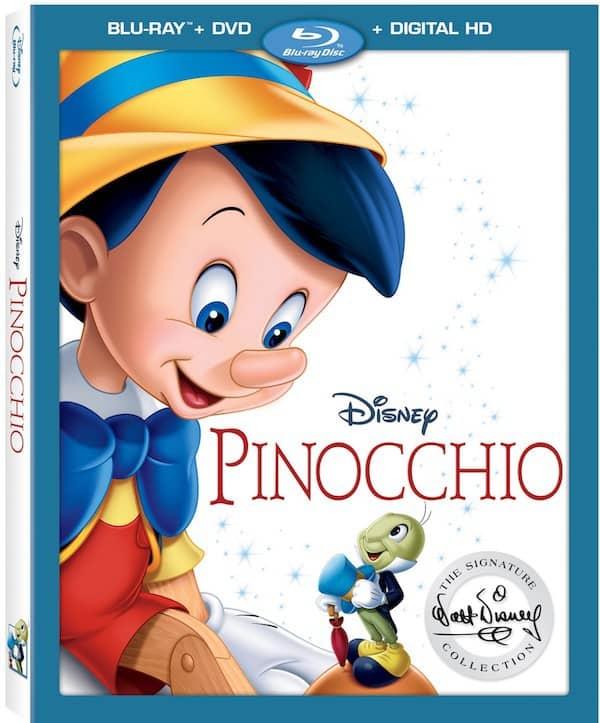 Pinocchio, Blu ray DVD, Walt Disney Signature Collection