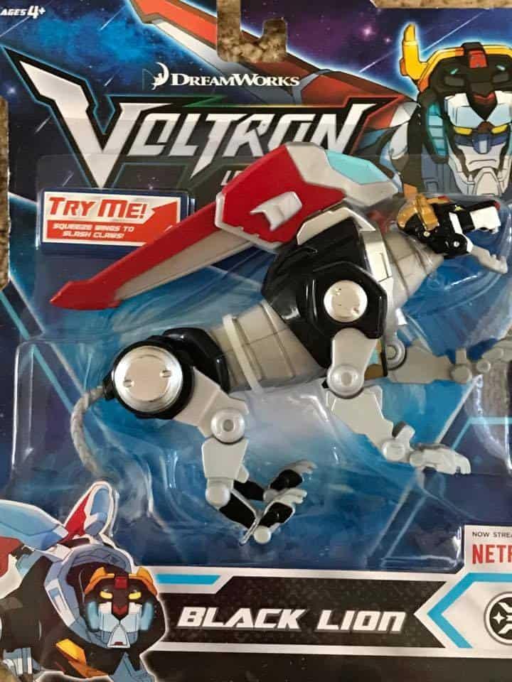Voltron Legendary Defender Black Lion toy