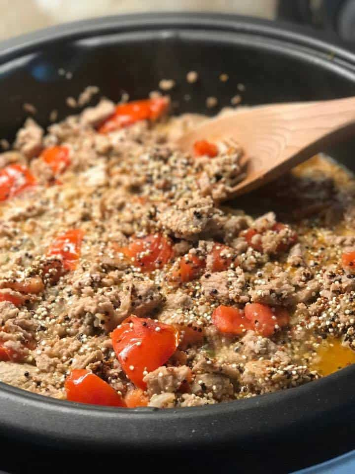 Cheeseburger Quinoa Recipe