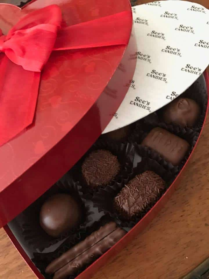 Valentines Day See's Candies