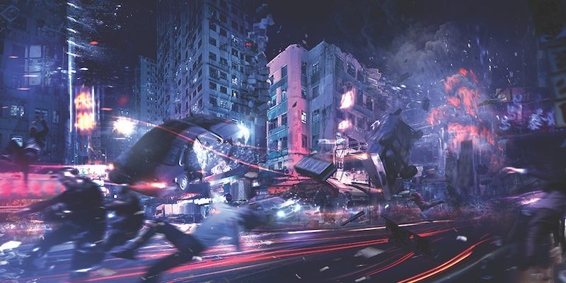#DoctorStrange Hong-Kong Time Reversal Scenes And Special Effects
