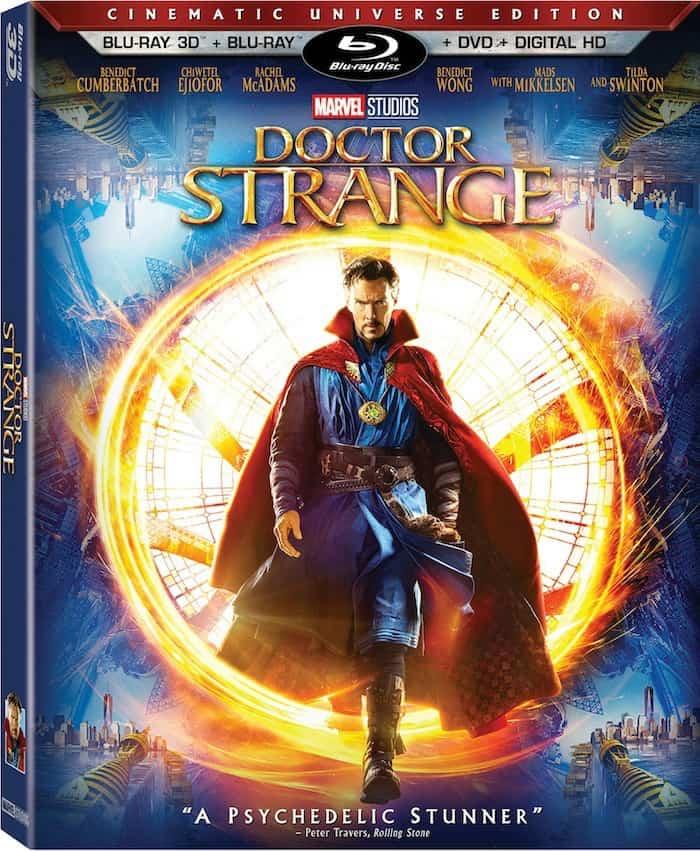 Doctor Strange DVD 3D