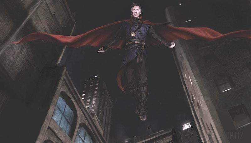 Doctor Strange Movie, Benedict Cumberbatch