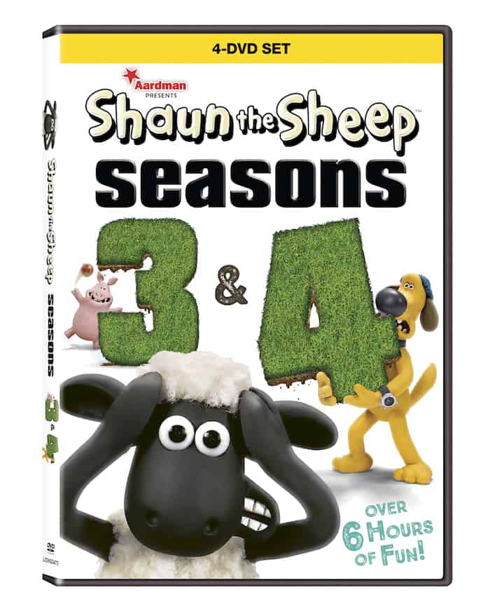 Shaun the Sheep Seasons 3 and 4, Lionsgate Home Entertainment