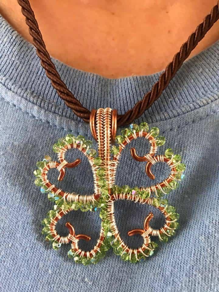 CLOVER Leaf Necklace, Lexi Butler Designs