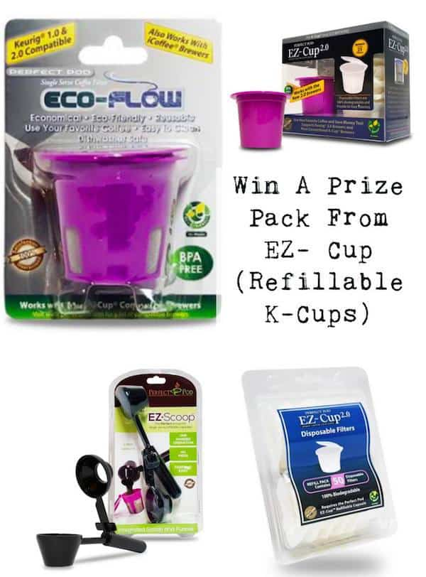 EZ cup, EZ scoop, disposable filters