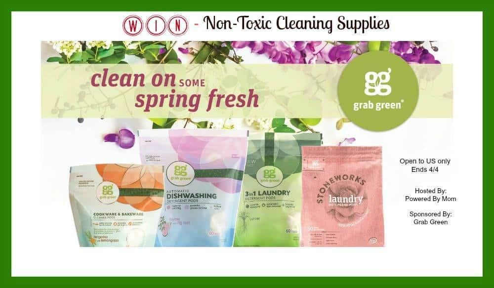 GRAB GREEN NON TOXIC CLEANING SUPPLIES