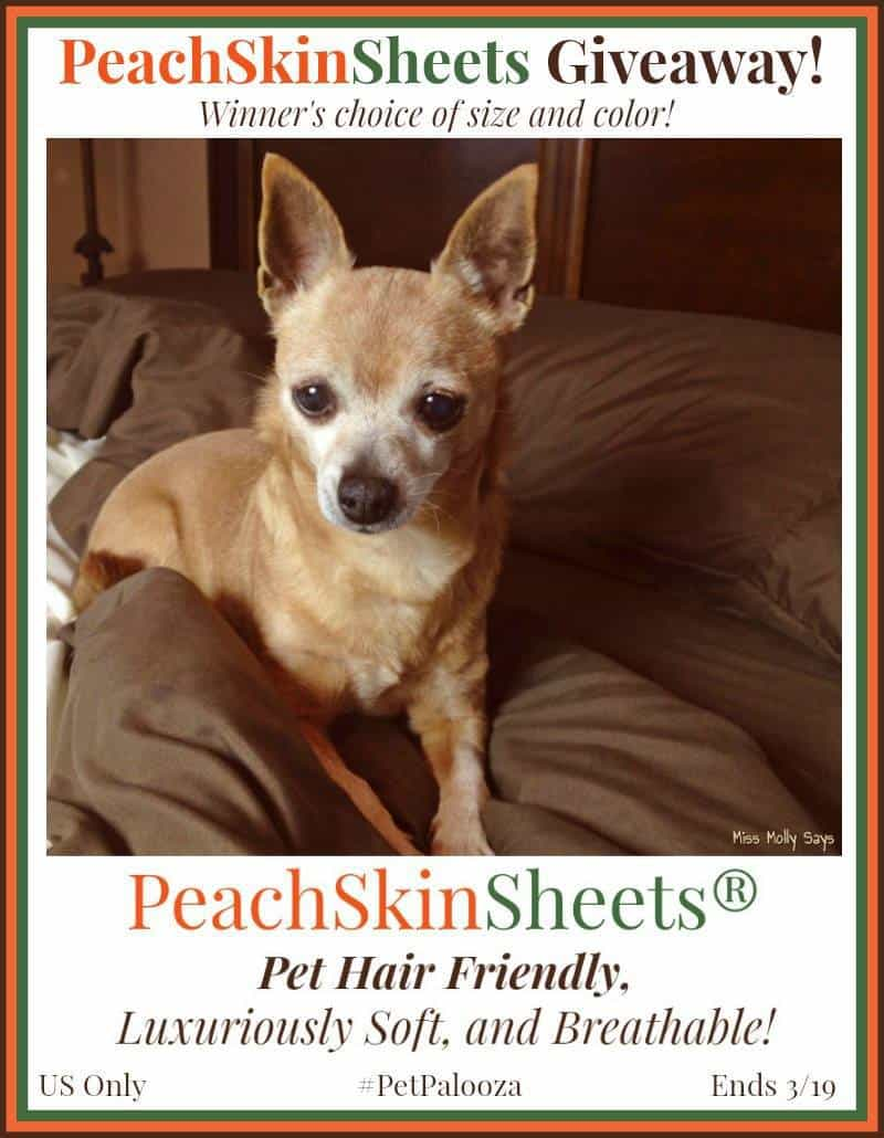 PeachSkinSheets Pet Friendly