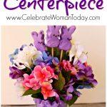 Peeps Centerpiece Craft, Easter Home Decor