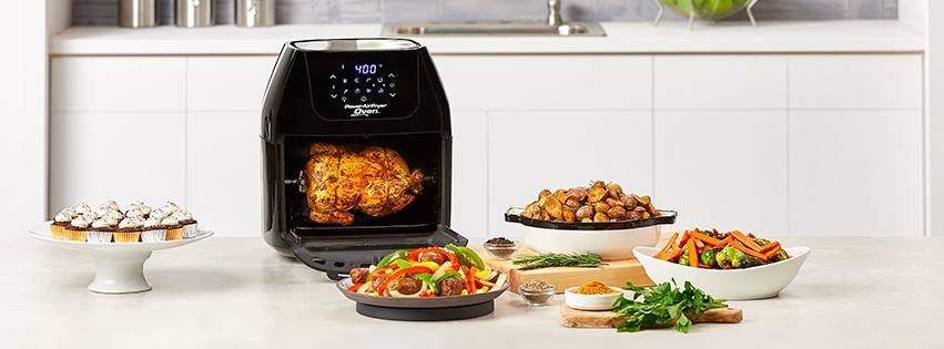 You can bake and fry any food in AirFryer as effectively as in the oven