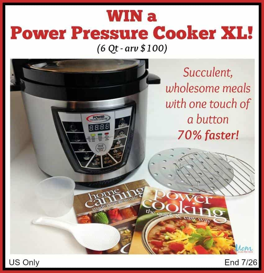 POWER Pressure Cooker XL giveaway