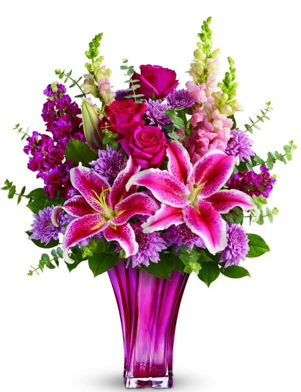 Teleflora Bold Elegance Bouquet, Mothers Day
