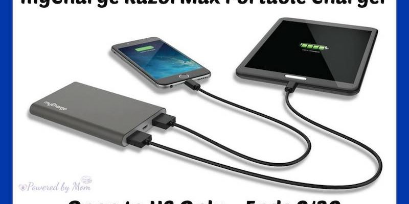 myCharge Portable Charger Is A Powerbank For Electronic Devices