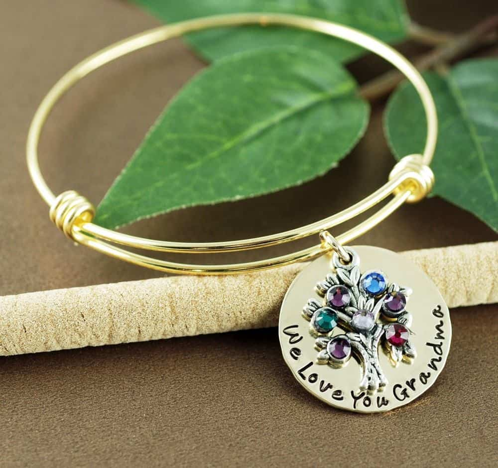 sweet blossom gifts bangle bracelet