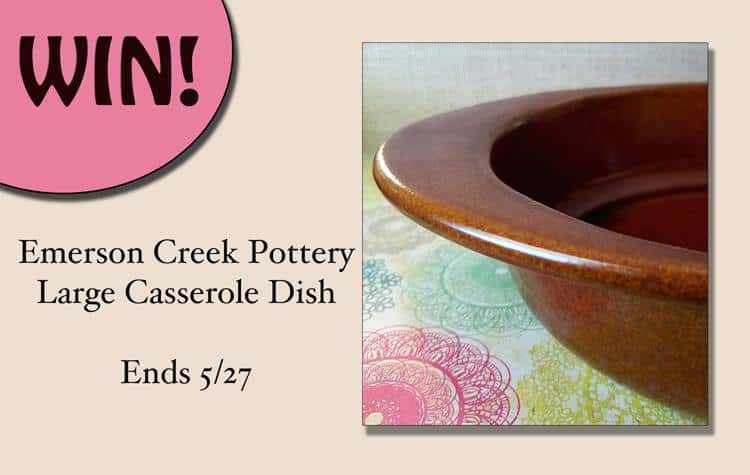 Emerson Creek Pottery Casserole Dish