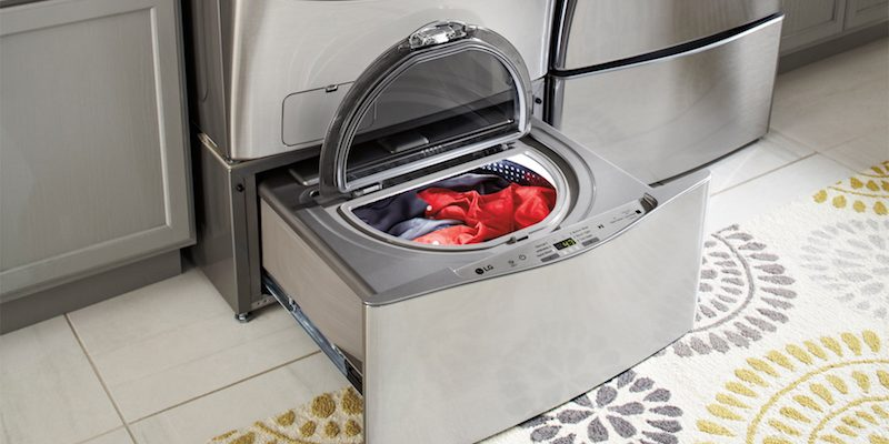 Maximize Your Laundry Capacity With this Easy HOW-TO Front Load LG Washer