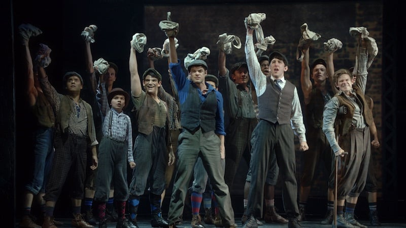 Newsies the Broadway Musical