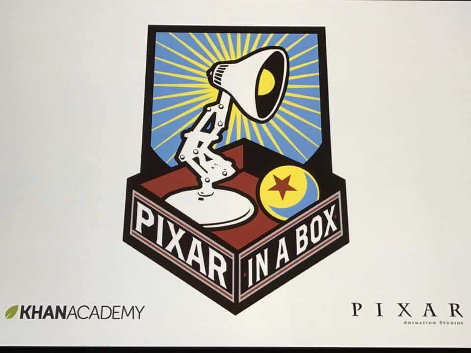 PIXAR IN A BOX, KHAN ACADEMY, PIXAR Studios, Cars 3 Release