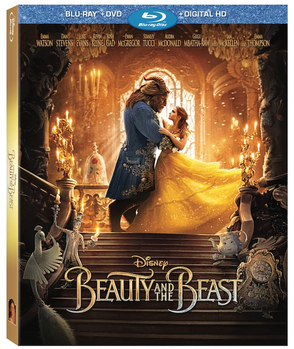 Beauty and the BEAST blu-ray DVD