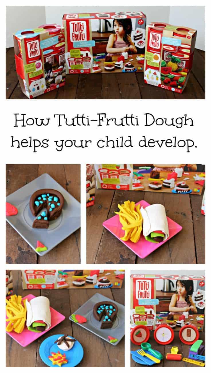 Developmental Toys, Tutti-Frutti Dough