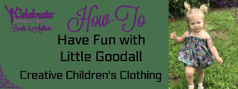 little goodall, children clothing